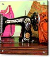 Old Fashion Machine Acrylic Print