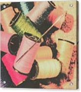 Old Fashion Threads Acrylic Print