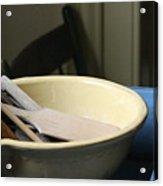 Old Fashioned Baking Tools Acrylic Print
