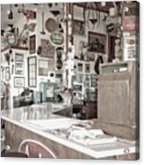 Old Fashioned Diner Acrylic Print by Dave & Les Jacobs