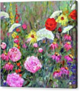 Old Fashioned Garden Acrylic Print