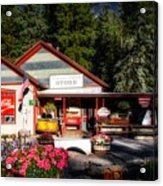 Old Fashioned General Store Acrylic Print