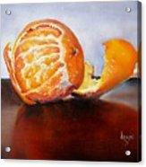 Old Fashioned Orange Acrylic Print