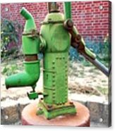 Old-fashioned Pitcher Pump Acrylic Print
