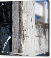 Old Fence Post Acrylic Print