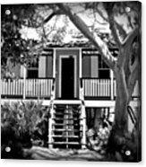 Old Florida Cottage Acrylic Print