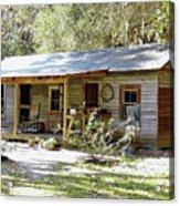 Old Florida Home Acrylic Print