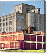 Old Flour Mill Acrylic Print