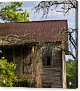 Old Forgotten Farm House Acrylic Print