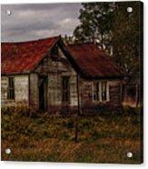 Old Forgotten Farmstead Acrylic Print