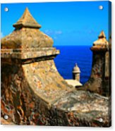 Old Fort Puerto Rico Acrylic Print
