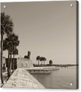 Old Fort, St. Augustine, Florida Acrylic Print