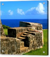 Old Fort Steps Acrylic Print
