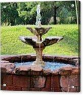 Old Fountain Acrylic Print