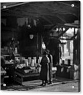 Old French Market Acrylic Print