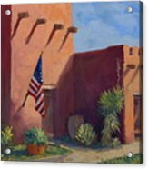 Old Ft.bliss Acrylic Print
