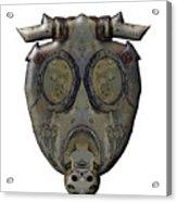 Old Gas Mask Acrylic Print