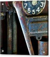 Old Gas Pump Acrylic Print