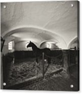 Old German Stable Acrylic Print