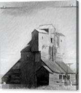 Old Grain Elevator Acrylic Print