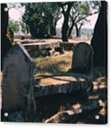 Old Grave  Acrylic Print