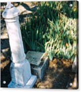 Old Grave Site Acrylic Print