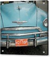 Old Havana Cab Acrylic Print