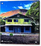 Old Hawaii Store - Signed Acrylic Print