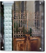 Old Heart Gate 2 Acrylic Print