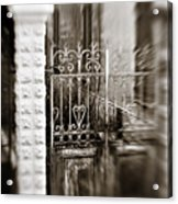 Old Heart Gate Acrylic Print