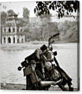 Old Honda In Hanoi Acrylic Print