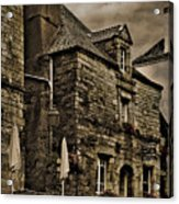Old House - Rochefort-en-terre - La Bretagne Acrylic Print
