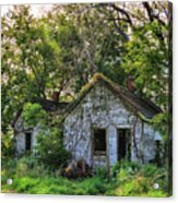 Old House Blues Acrylic Print