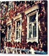 Old House In Moscow Acrylic Print