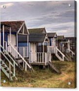 Beach Huts At Old Hunstanton Acrylic Print