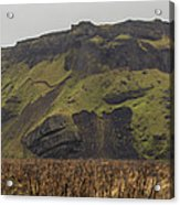 Old Icelandic Island Panorama Acrylic Print