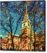 Old Independence Hall Acrylic Print