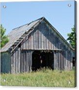 Old Iowa Barn Acrylic Print