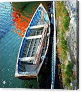 Old Irish Boat Acrylic Print