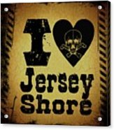Old Jersey Shore Acrylic Print