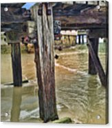 Old Jetty Acrylic Print