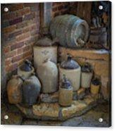 Old Jugs Color - Dsc08891 Acrylic Print