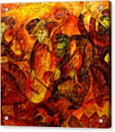 Old Klezmer Band Acrylic Print