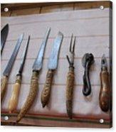 Old Knives Acrylic Print