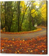 Old La Honda In Fall Acrylic Print