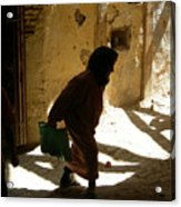 Old Lady Tangier. Acrylic Print