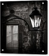 Old Lamp Acrylic Print