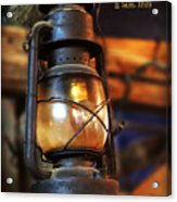 Old Lantern Second Samuel 22 Vs 29 Acrylic Print
