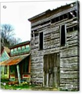 Old Leavenworth Indiana Ghost Town II Acrylic Print