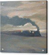 Old Locomotive Steam Train Acrylic Print